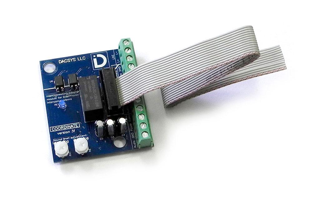 Использование шлейфа для подключения модуля сопряжения МСК